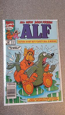 Alf #48 Controversial Seal Cover - December 1991 - Marvel Comic Book