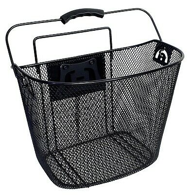 Bike Basket Cycle Bicycle Quick Front Release