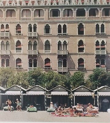 """'HOTEL EXCELSIOR' 1957 VENICE by Slim Aarons Original 12x16"""" C-type photograph"""