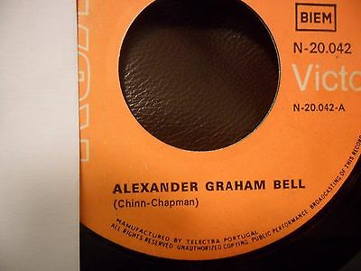 THE SWEET Alexander Graham Bell 7/45 [unplayed] RARE 71 PORTUGAL PRESS NO SLEEVE