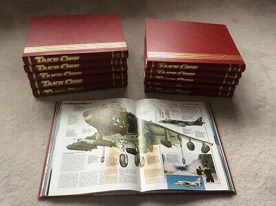 complete set of Take Off magazines in 11 binders in pristine condition