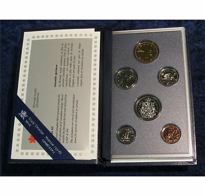 Canada 1993 6-coin Specimen (Proof) set - from RCM with COA - GC029