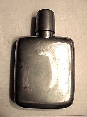 1800's Sheffied Silver Flask by James Dixon & Sons, Sheffield