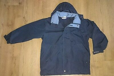 BODGE Junior outdoors winter coat girls or boys unisex age 7/8 years school coat