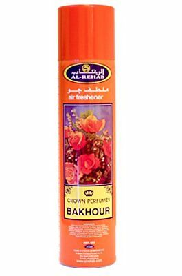 Bakhoor   Airfreshner Fragrabces Spray Perfume 300 ML by Al Rehab