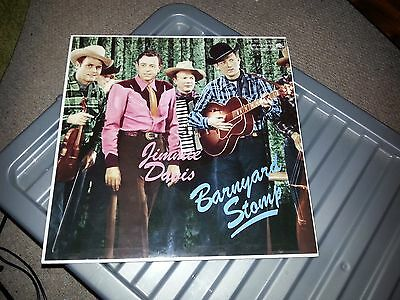Vinyl - Jimmie Davis Barnyard Stomp - Rockabilly - Lp Record