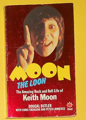 The Who , Moon The Loon , Dougal Butler , Story Of Keith Moon ,1981