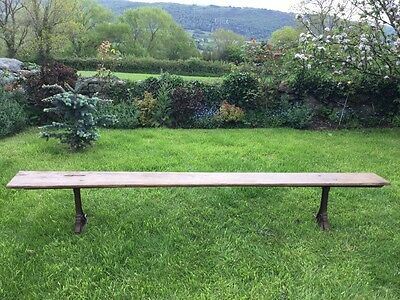 Antique Victorian Chapel/Church/Scool Bench