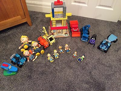 Bundle Of Bob The Builder Toys Vehicles And Figures