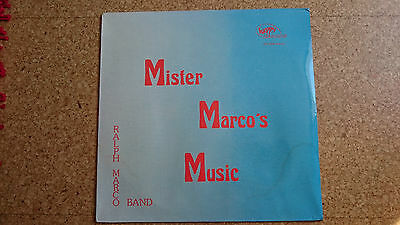 Ralph Marco Band ‎– Mister Marco's Music - Happy Records ‎– HR 2206 - Germany