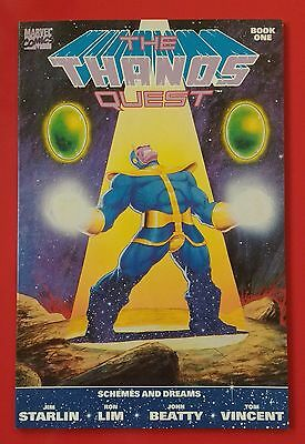 Thanos Quest Book One Marvel 1st Print