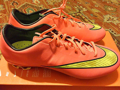 Nike Mercurial Veloce II FG Football Boots Size UK 7