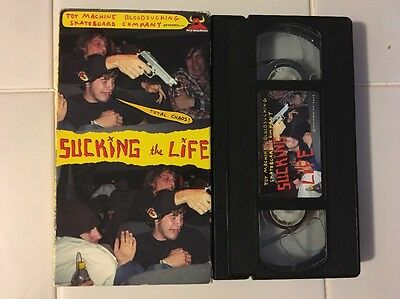 Toy Machine Sucking the Life VHS Skate Boarding Video Ed Templeton 2003