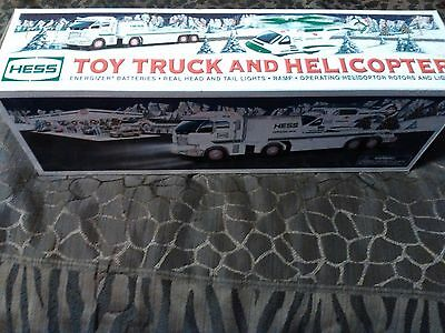 2006 Hess Toy Truck and Helicopter w/ Original Box