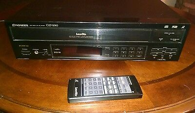 Pioneer CLD 1080 LaserDisc Player with Remote Works Great!