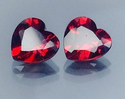 4Ct Natural Red Garnet  Gems (Free Shipping Additional 10 Items )(6025)