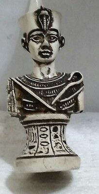Egyptian Antique, King Tutankhamun Curved Basalt Read Description