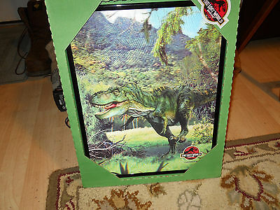 The Lost World Jurassic Park 3D Motion Commotion Holographic Pictures W/coa's