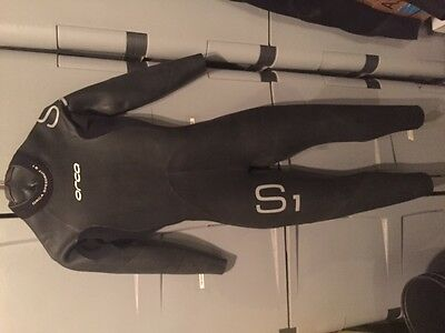 Orca mens teens childrens triathlon wetsuit S1 Size Small / 5 long sleeve