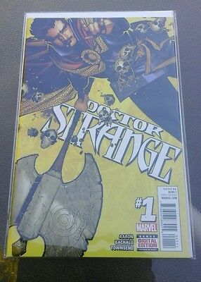 Doctor strange #1 regular cover December 2015 with digital copy