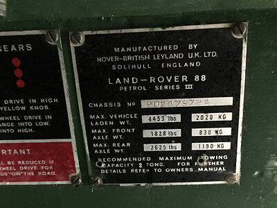 1975 Land Rover Other  1975 Land Rover 4DR SUV