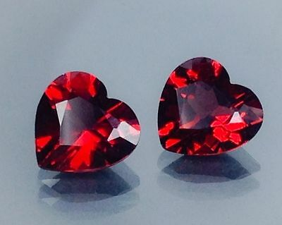 3.70Cts Natural Red Garnet Gems (Free Shipping Additional 10 Items )(6046)