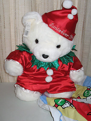 1994 Dayton Hudson Marshall Fields Santabear With Bag