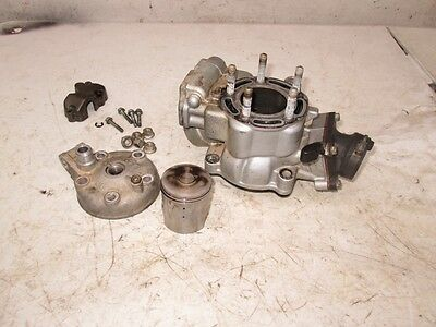 05 KX 85 Cylinder ,Head Intake /reed with piston 48.50mm bore oem stock