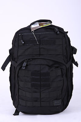 5.11 Tactical Rush 12 backpack Outdoor Army backpack - Black - New with Tags