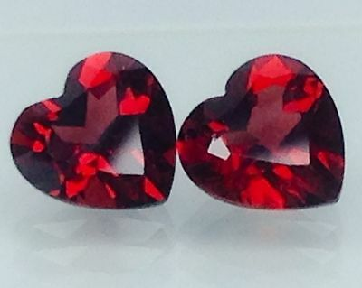 4.10Ct Natural Red Garnet Gems (Free Shipping Additional 10 Items )(6052)
