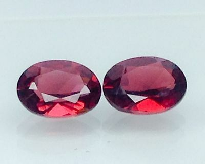 2.95Ct Natural Red Garnet Gems (Free Shipping Additional 10 Items )(6053)