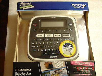 Brother P-Touch Label Maker PT-D200MA
