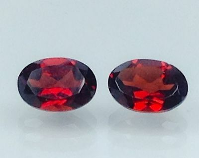 2.10Ct Natural Red Garnet Gems (Free Shipping Additional 10 Items )(6060)