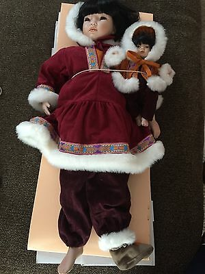 """Collectible doll by Pauline """"Sedna"""" 22"""" with COA LE 421 of 950 Porcelain"""