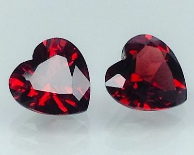 4.50Ct Natural Red Garnet Gems (Free Shipping Additional 10 Items )(6064)