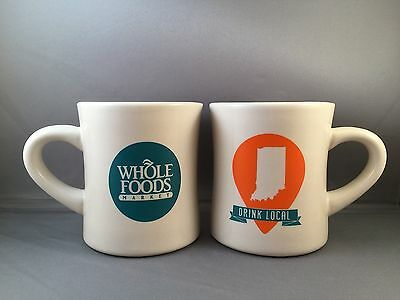 Whole Foods Indiana Drink Local New Coffee Mug