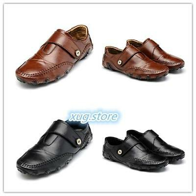 Men's Leather Shoes Fashion Classic Oxfords Casual Driving Moccasins Loafers