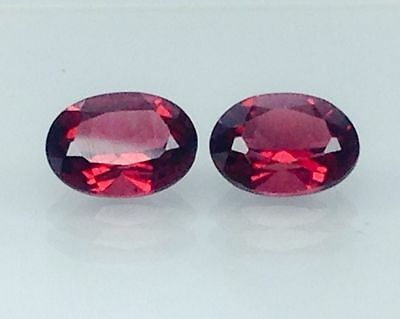 2.95Ct Natural Red Garnet Gems (Free Shipping Additional 10 Items )(6069)