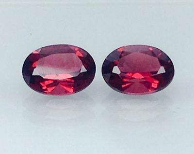 2.90Ct Natural Red Garnet Gems (Free Shipping Additional 10 Items )(6071)