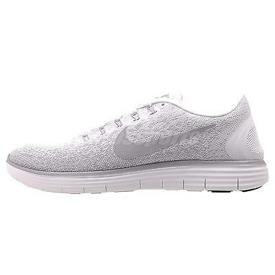 Nike Wmns Free RN Distance Running Womens Shoes White Gry 827116-100