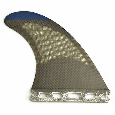 Surfbaordfin FUTURE base Honeycomb Grey G5 size Carbon