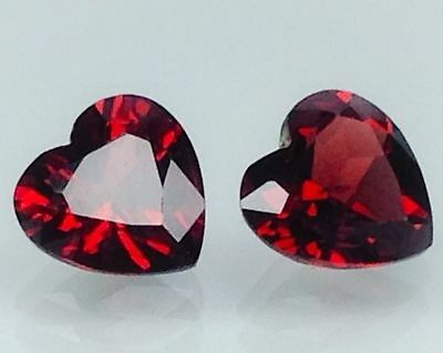 3.75Cts Natural Red Garnet Gems (Free Shipping Additional 10 Items )(6095)
