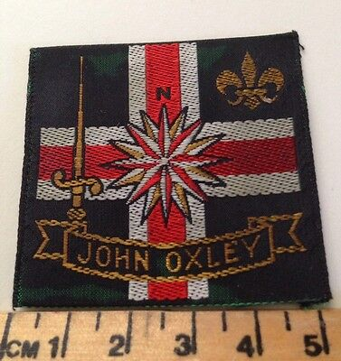 Vintage John Oxley Scout Badge