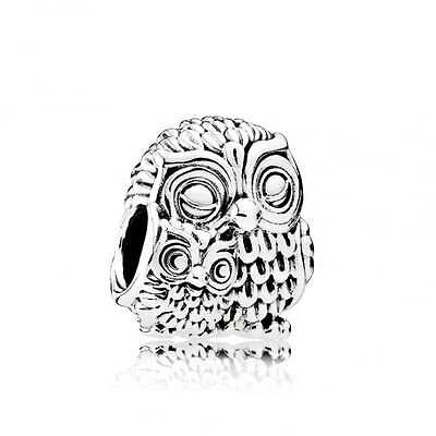 PANDORA Charming Owls Charm 791966 Genuine Authentic New