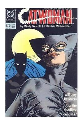 CATWOMAN 4 (1989) NM; 1st solo series; guest-starring Batman