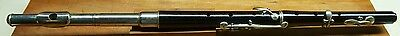 German 5-key flute with metal head - ebony body - Listen to the demo!!!