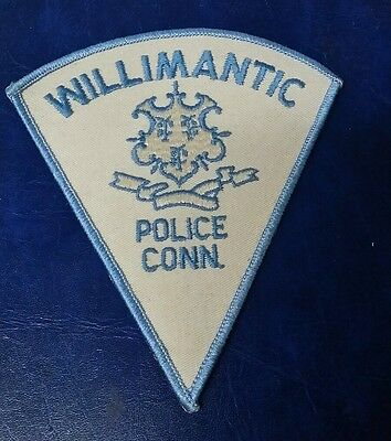 Willimantic, Connecticut Police Shoulder Patch Ct 2