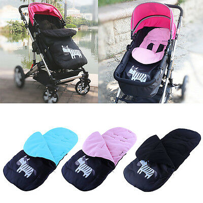 Baby Infant Soft Sleeping Bag Stroller Fleece Footmuff Bunting Bag For 2-4 Years