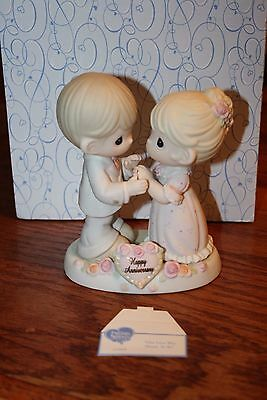 Precious Moments Our Love Was Meant To Be Happy Anniversary Figurine p515
