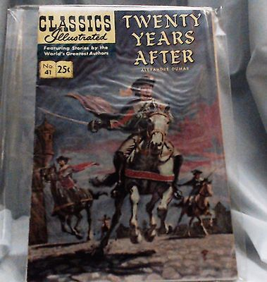 Classics Illustrated #41 Twenty Years After